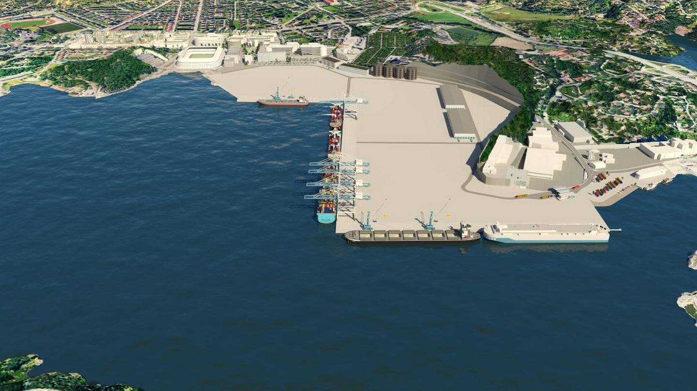 Havneutvikling Mulighetsstudie av Kongsgård/Vige